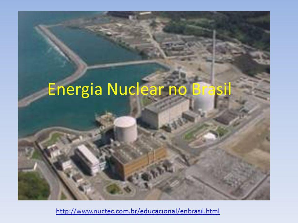 1.O que é energia nuclear.2.Reatores Nucleares. 3.Enriquecimento de Urânio.
