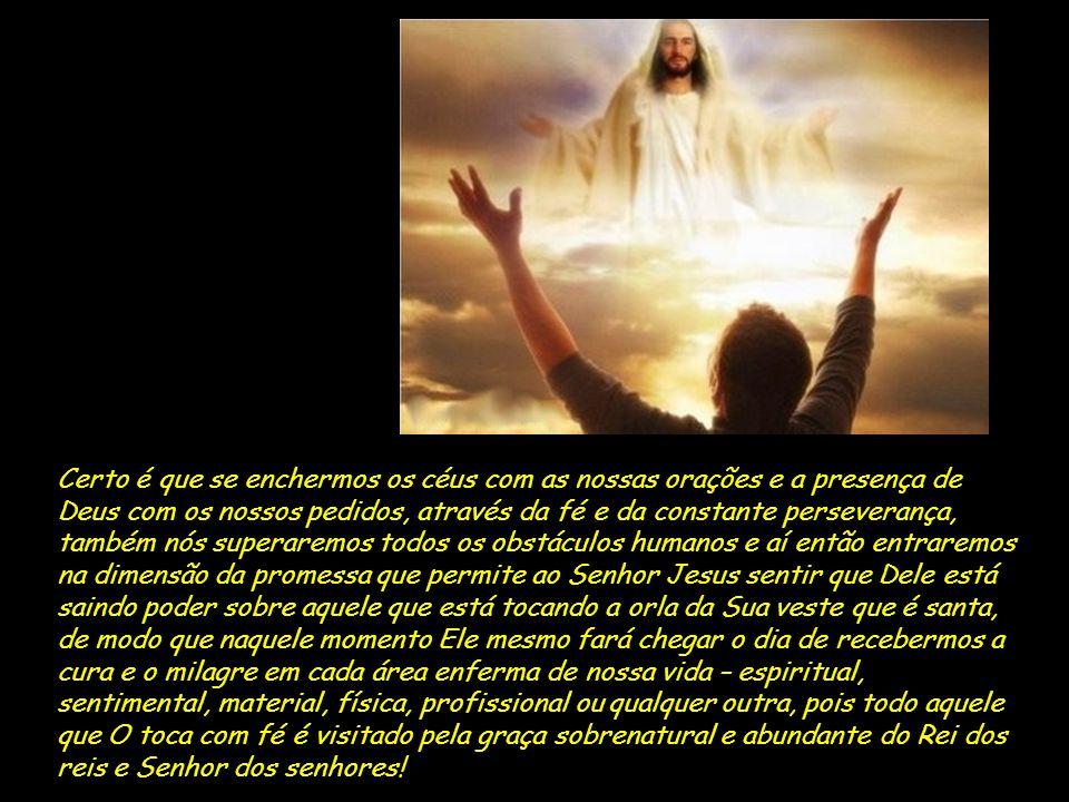 Por isso hoje eu te convido junto comigo a acreditar, te convido a parar de murmurar e entregar a sua vida nas mãos de Deus, te convido a chorar na pr