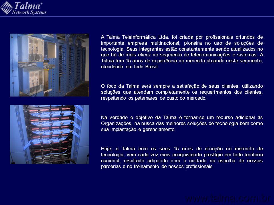 A Talma Teleinformática Ltda. foi criada por profissionais oriundos de importante empresa multinacional, pioneira no uso de soluções de tecnologia. Se