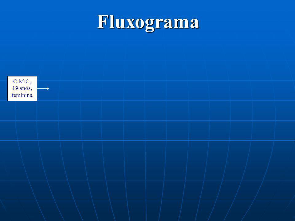 Fluxograma C.M.C, 19 anos, feminina