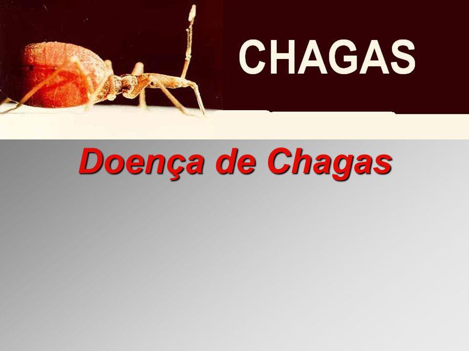 Doença de Chagas Evolução Prognóstico: Infecções agudas na infância são freqüentemente fatais, particularmente quando o SNC é envolvido.