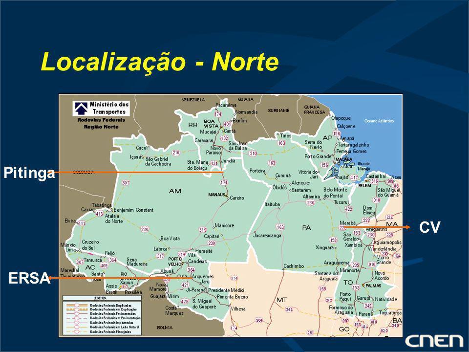 Localização - Norte Pitinga ERSA CV