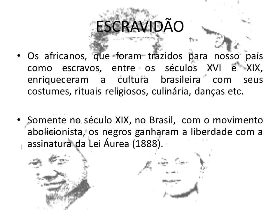 ESCRAVIDÃO Mesmo antes da chegada dos europeus, já existia escravidao na Africa, por dívidas e prisioneiros de guerras que se tornavam escravos Tribos
