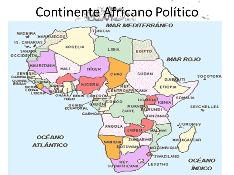 Continente Africano Político