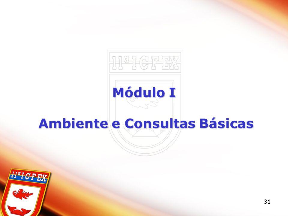 31 Módulo I Ambiente e Consultas Básicas Ambiente e Consultas Básicas