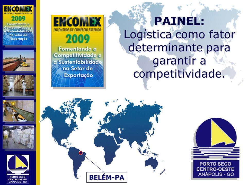 PAINEL: Logística como fator determinante para garantir a competitividade. PAINEL: Logística como fator determinante para garantir a competitividade.