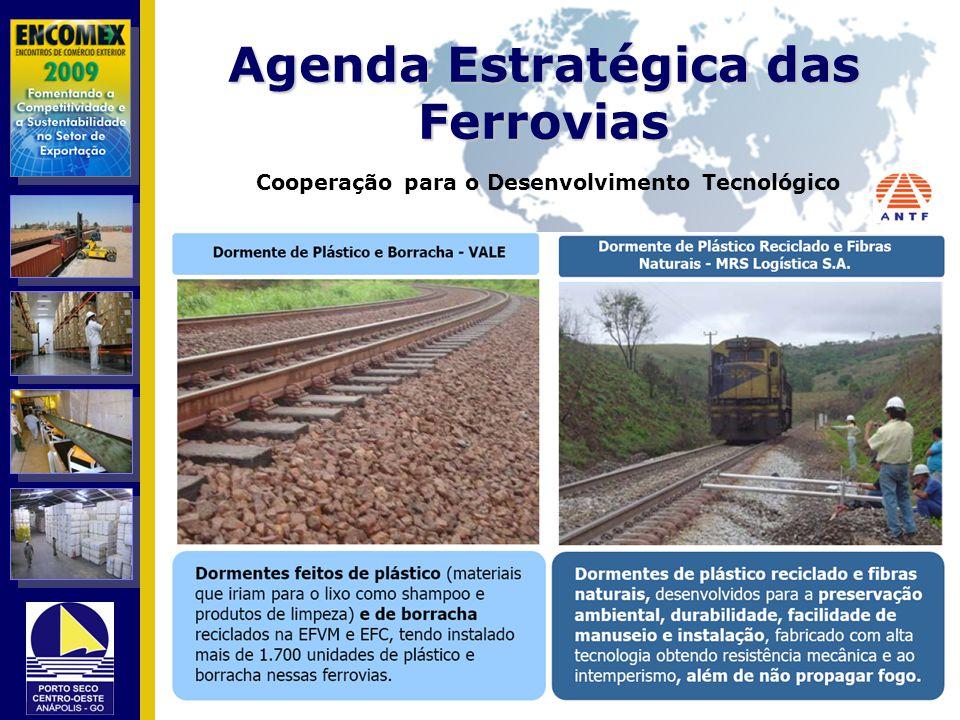 Agenda Estratégica das Ferrovias Cooperação para o Desenvolvimento Tecnológico