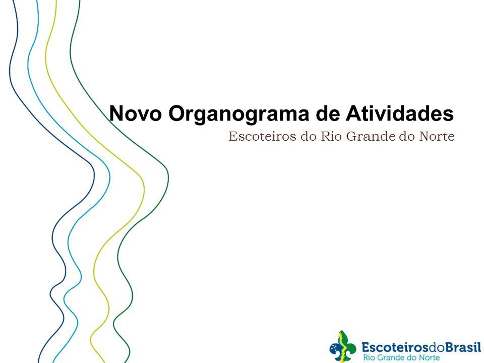 Novo Organograma de Atividades Escoteiros do Rio Grande do Norte