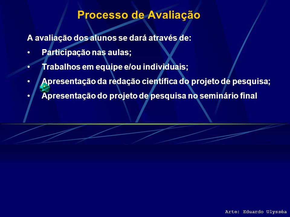 Recursos Necessários Para plena atividade didática são necessários os seguintes recursos e materiais didáticos: Computador Canhão multimídia TV/Vídeo