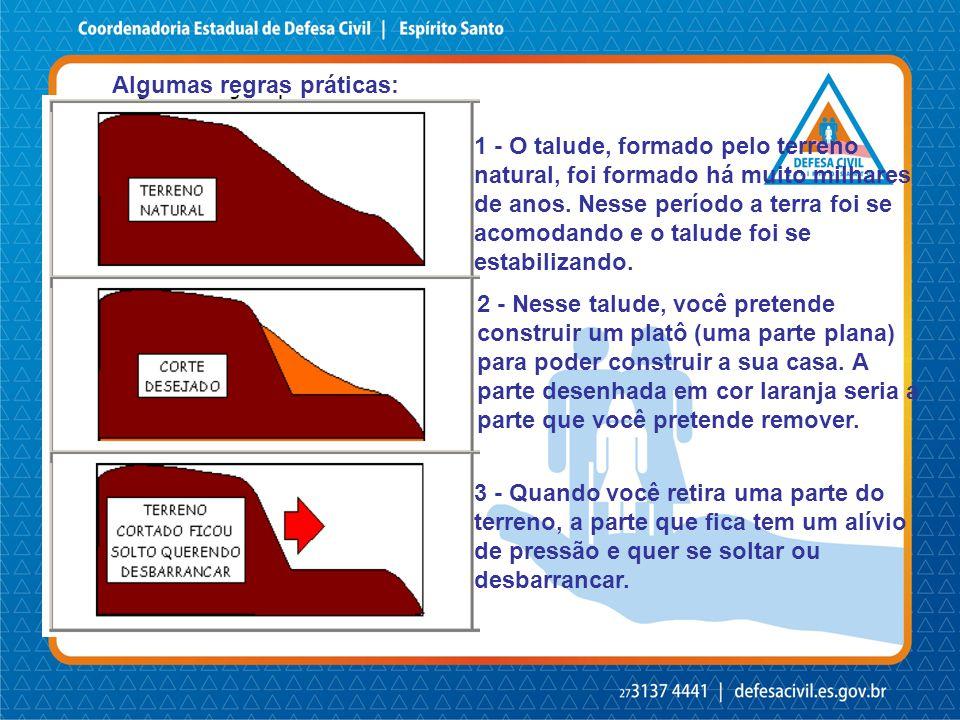 Contenção de blocos rochosos c/contrafortes em área de risco - Pancas/ES – Julho/2009
