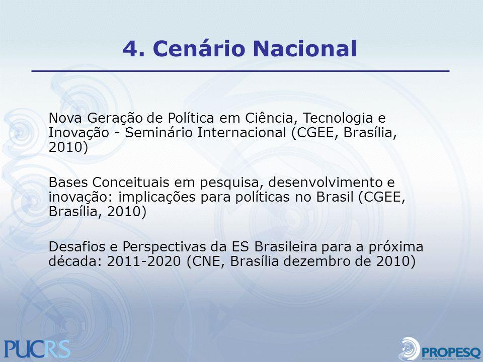 Nova Geração de Política em Ciência, Tecnologia e Inovação - Seminário Internacional (CGEE, Brasília, 2010) Bases Conceituais em pesquisa, desenvolvim