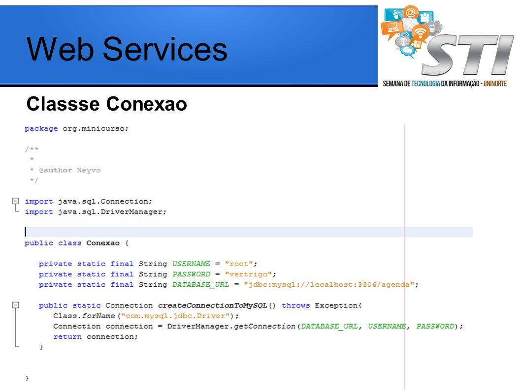 Classse Conexao Web Services