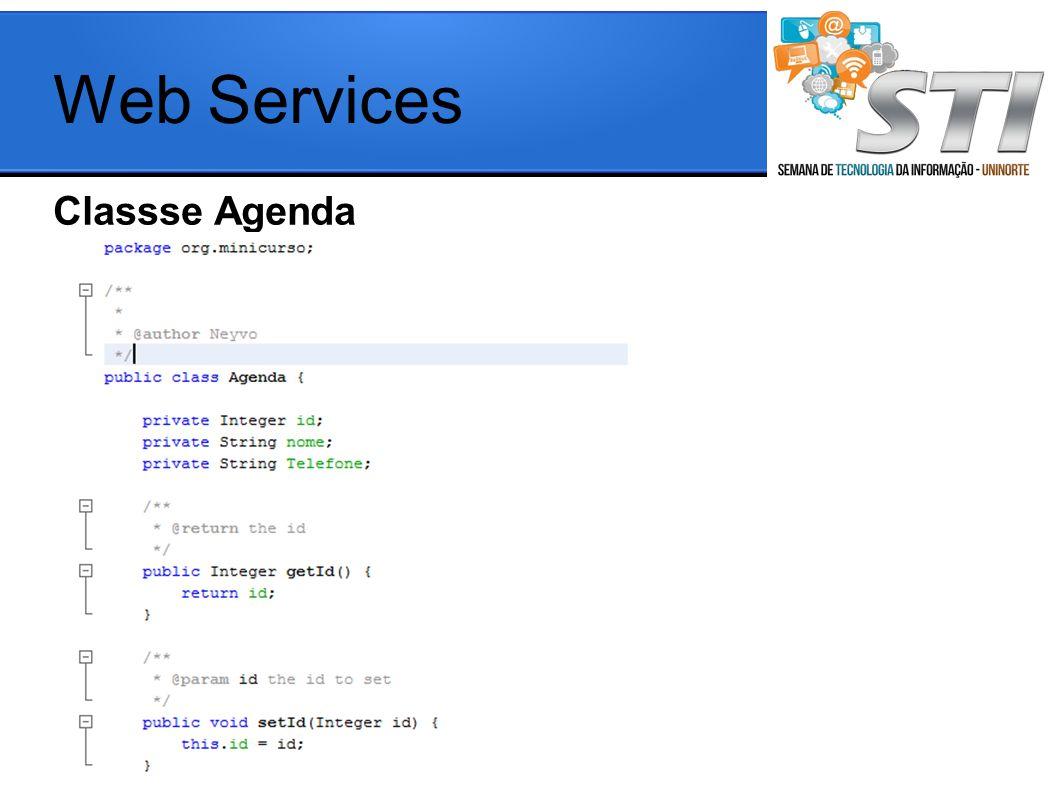Classse Agenda Web Services