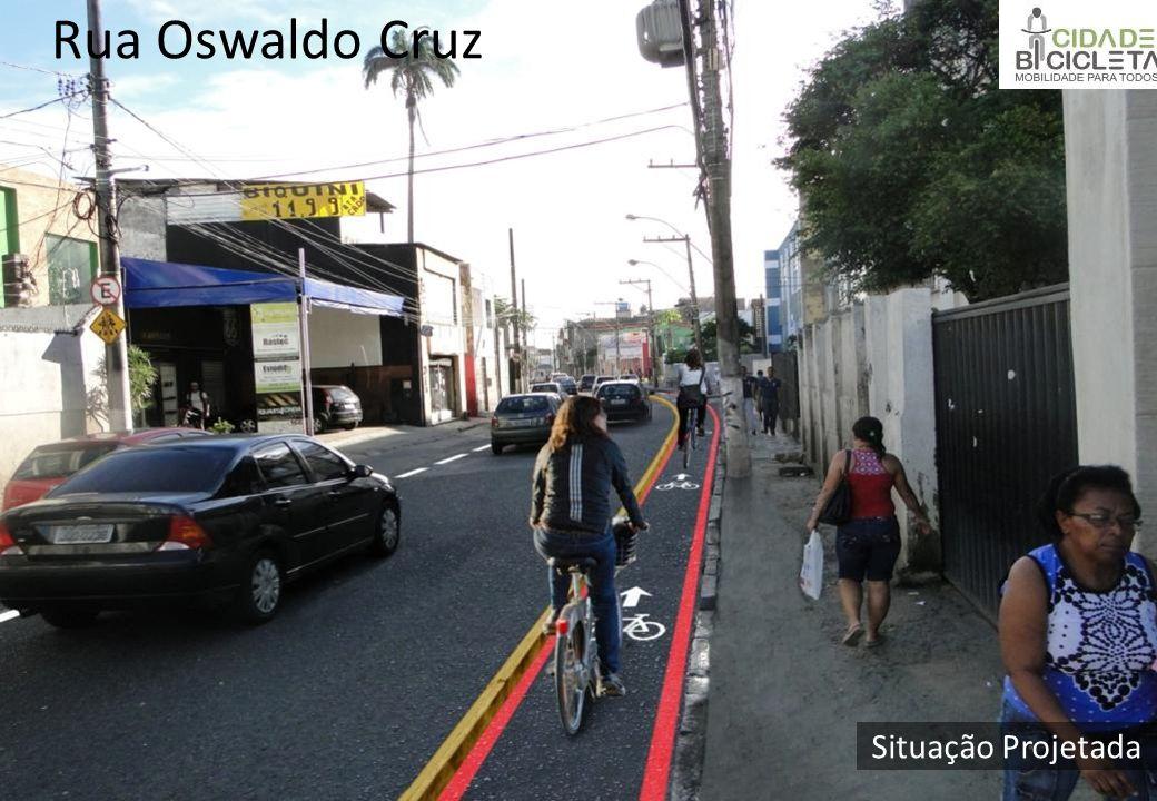 Rua Oswaldo Cruz Situação Projetada