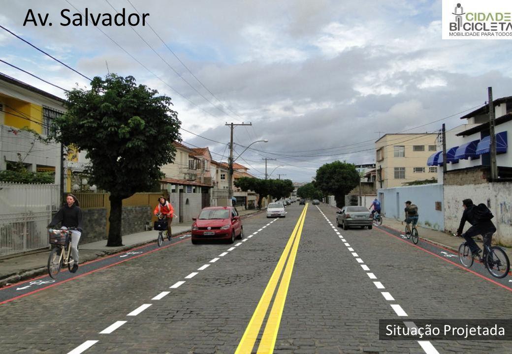 Situação Projetada Av. Salvador