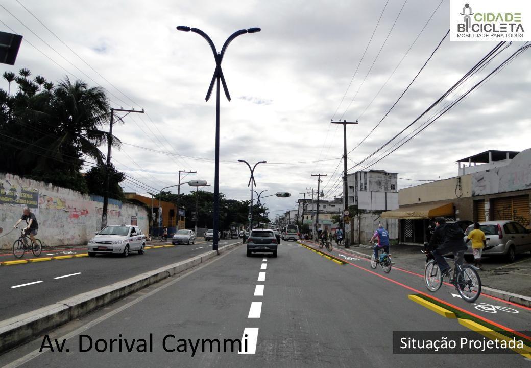 Situação Projetada Av. Dorival Caymmi