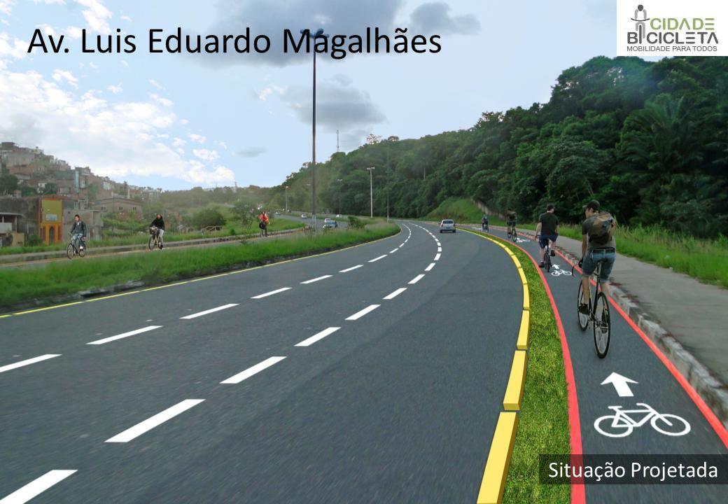 Situação Projetada Av. Luis Eduardo Magalhães