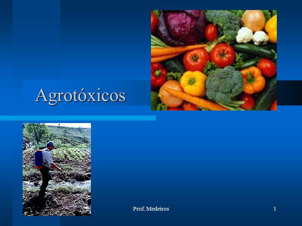 16/6/2014Prof. Medeiros1 Agrotóxicos Agrotóxicos