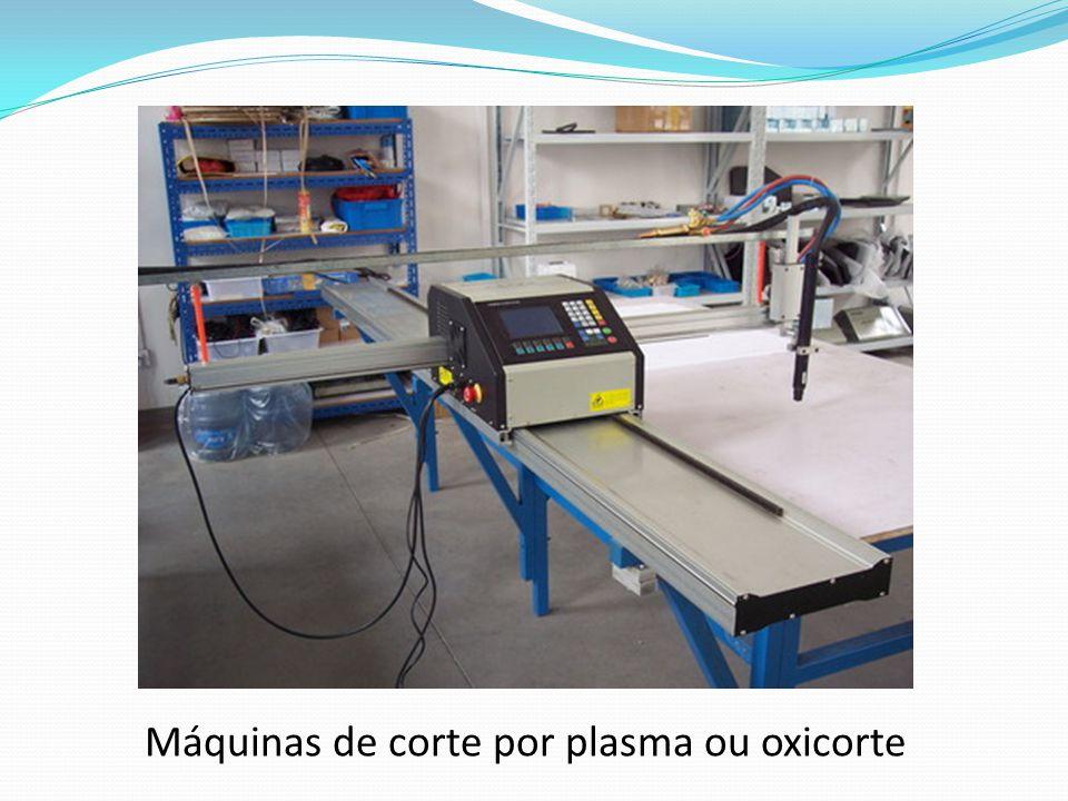 Máquinas de corte por plasma ou oxicorte