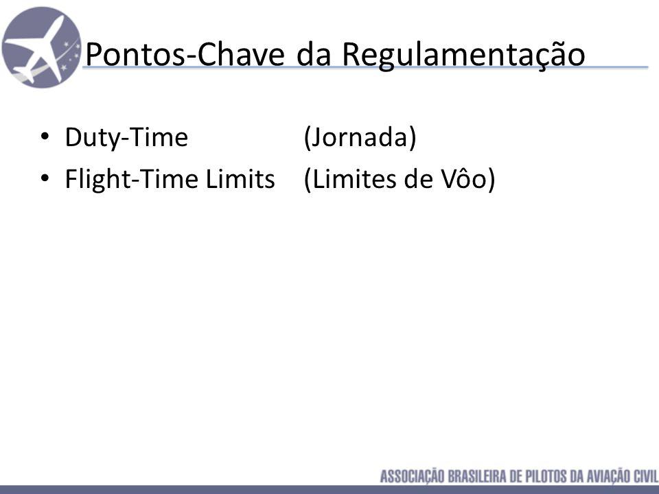 Pontos-Chave da Regulamentação Duty-Time (Jornada)