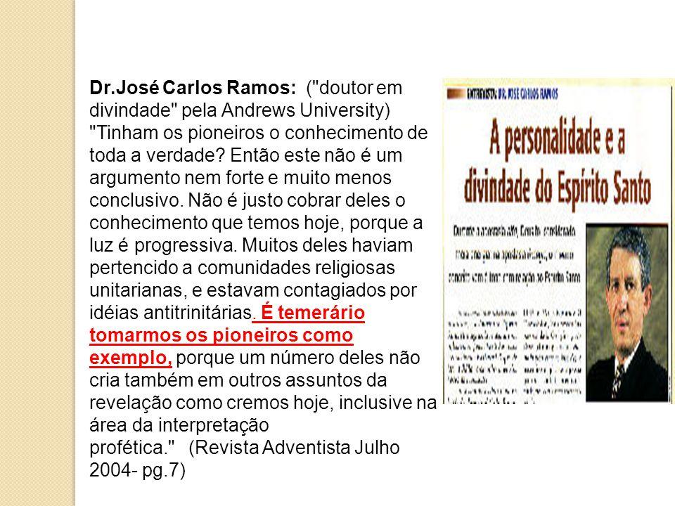 Dr.José Carlos Ramos: (