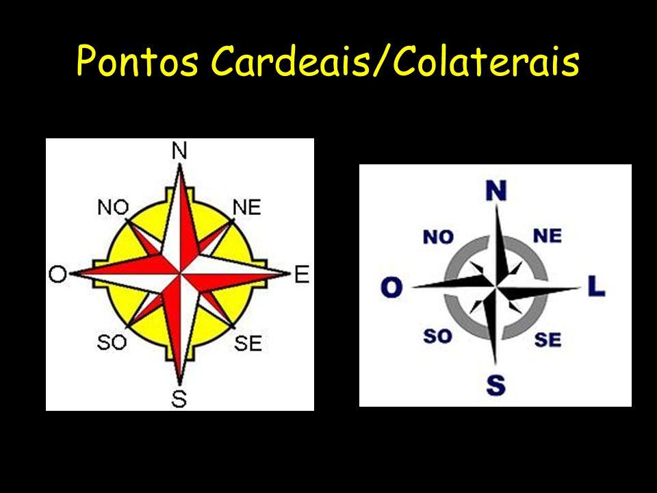Pontos Cardeais/Colaterais