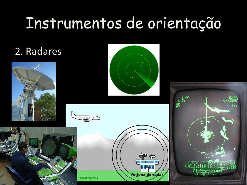 Instrumentos de orientação 2. Radares