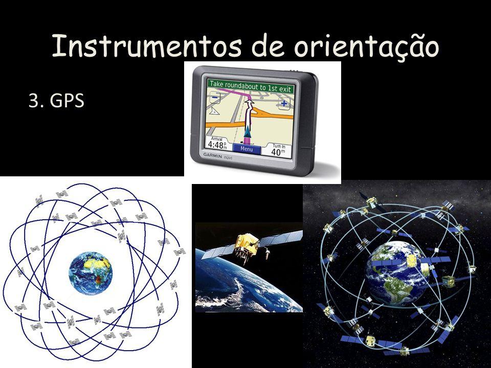 Instrumentos de orientação 3. GPS