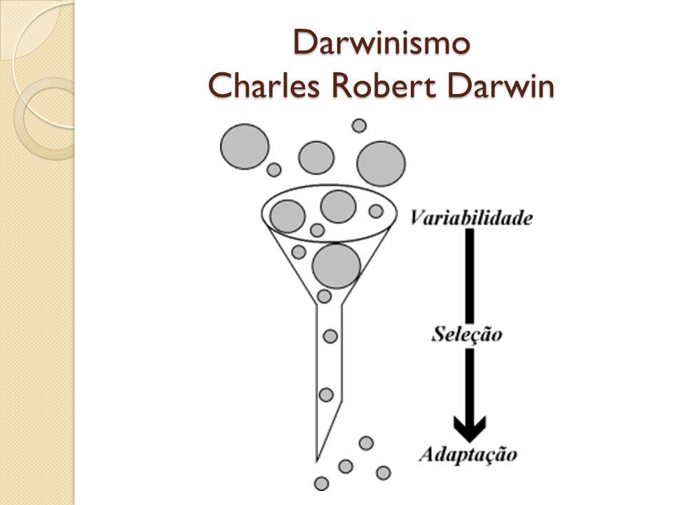 Darwinismo Charles Robert Darwin
