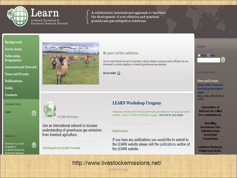 CFMV/CNSA http://www.livestockemissions.net/