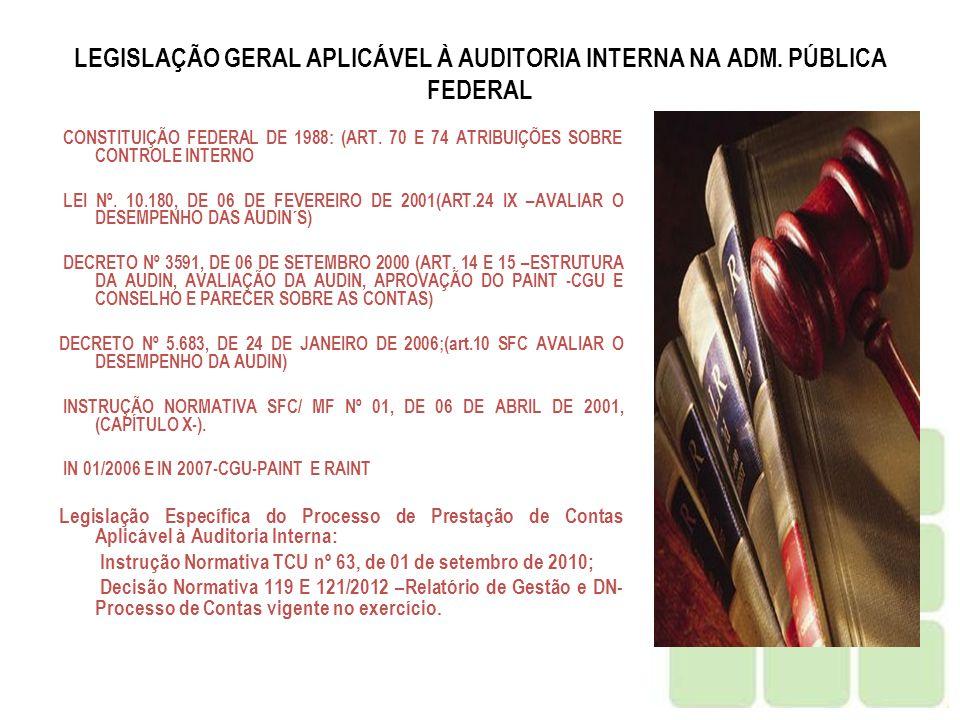 DN TCU nº 117/2011 ANEXO II - RELATÓRIOS E PARECERES DE INSTÂNCIAS QUE DEVAM SE PRONUNCIAR SOBRE AS CONTAS OU SOBRE A GESTÃO.