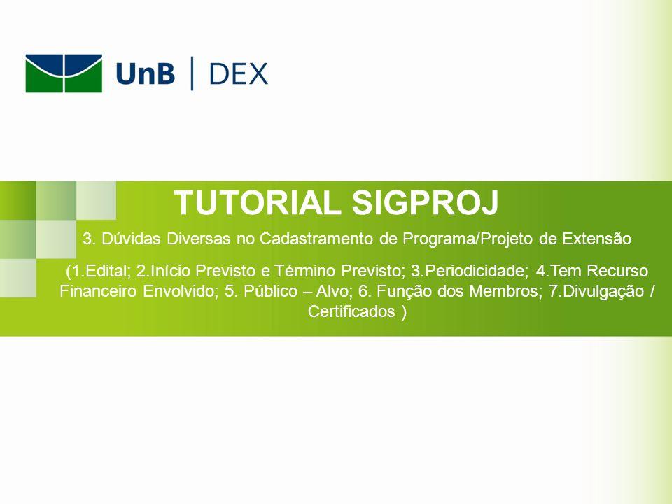 Slide 1 1. Identificação da Ação (item 1.1) O Edital a ser escolhido é o FLUEX – (UnB)