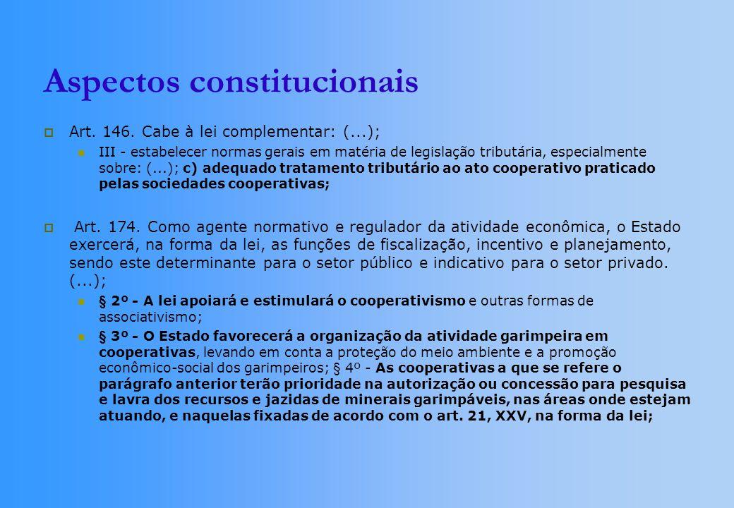 Art. 146. Cabe à lei complementar: (...); III - estabelecer normas gerais em matéria de legislação tributária, especialmente sobre: (...); c) adequado