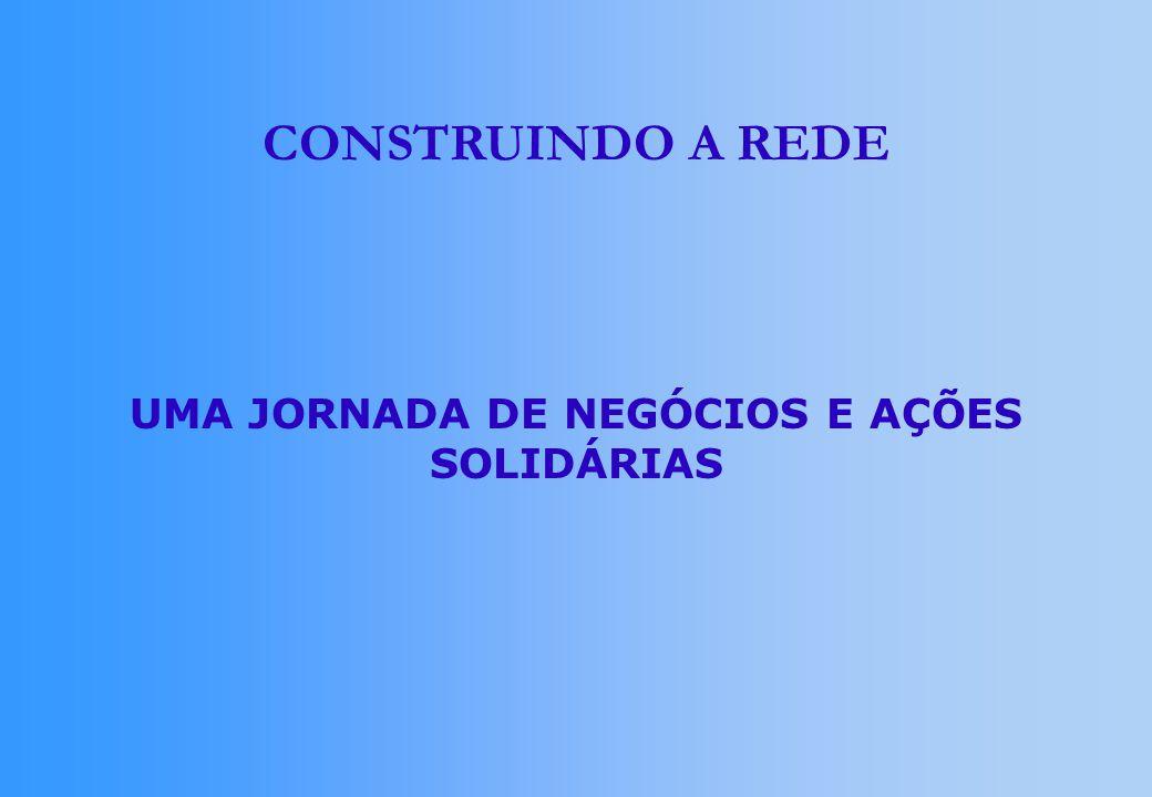 CONSTRUINDO A REDE UMA JORNADA DE NEGÓCIOS E AÇÕES SOLIDÁRIAS