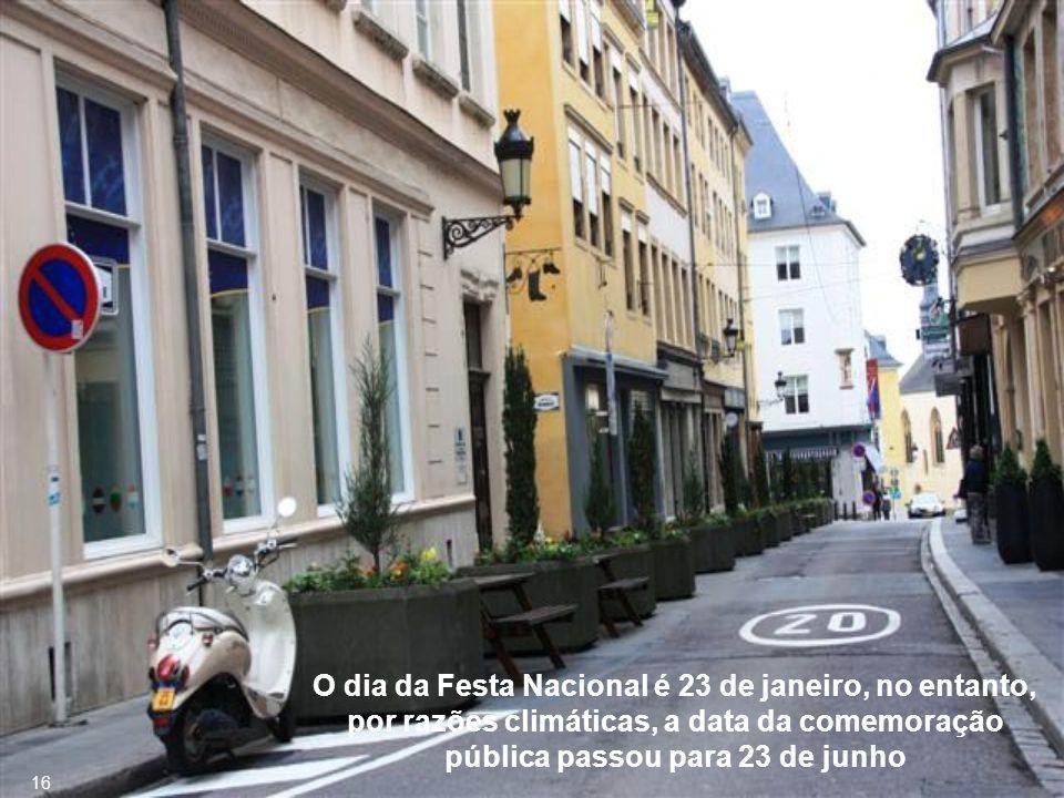 Luxembourg é o único Grão-Ducado dos dias atuais 15