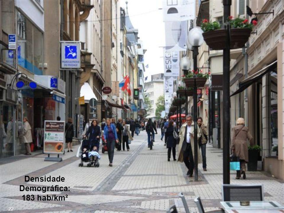 População: 502 500 hab. (Jan/2010) 21