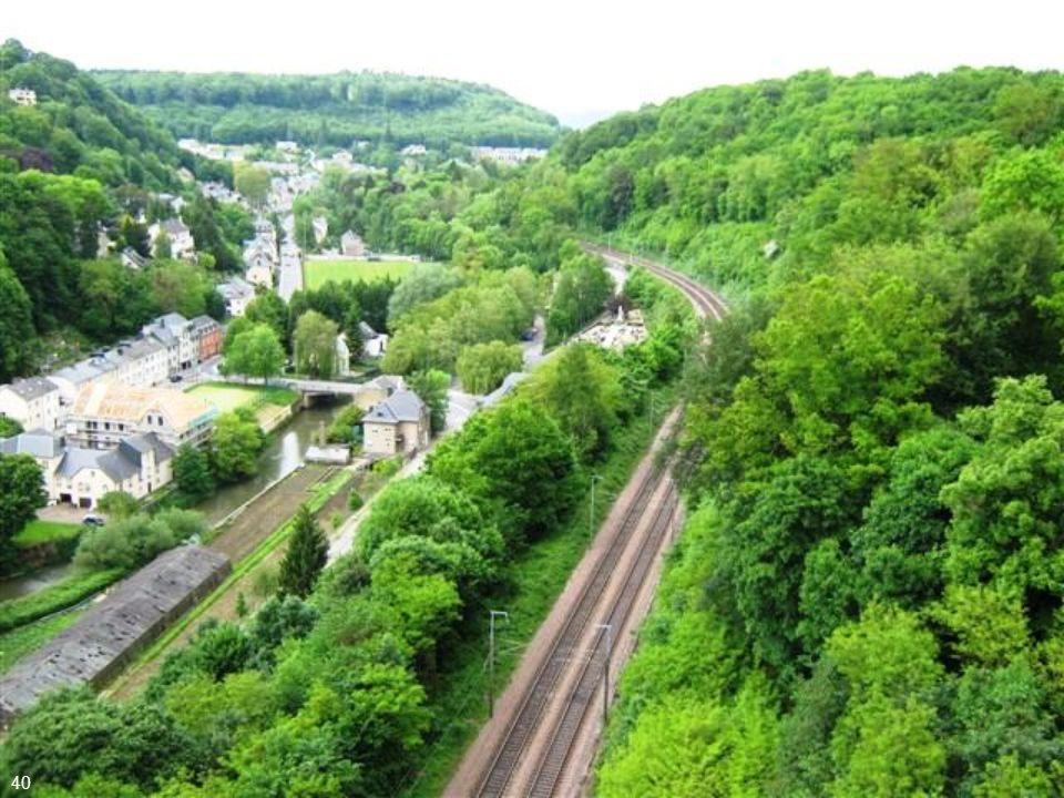 O transporte ferroviário está entre os mais bem desenvolvidos da Europa 39