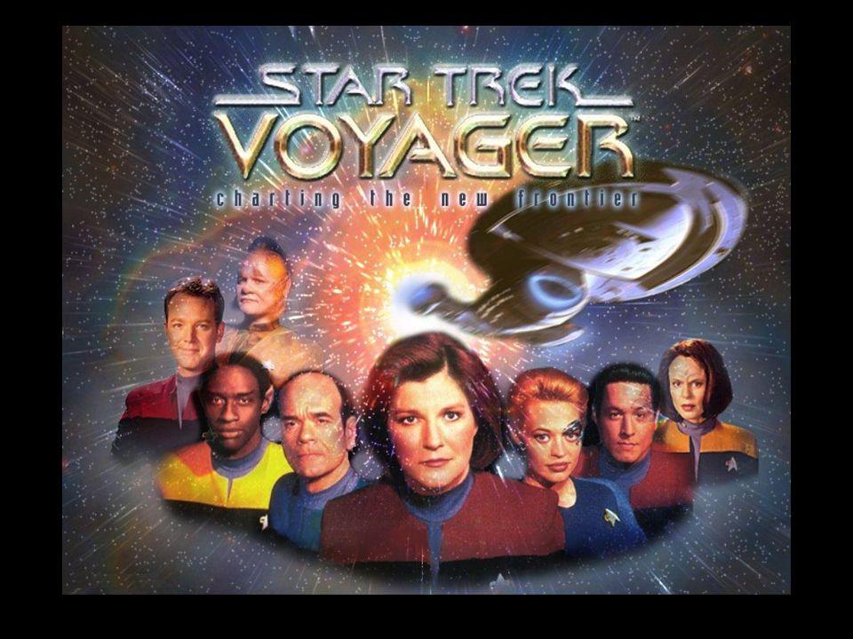 Nos EUA, as suas sete temporadas foram transmitidas simultaneamente com outras séries de Star Trek: a segunda metade da 6ª e a totalidade da 7ª tempor