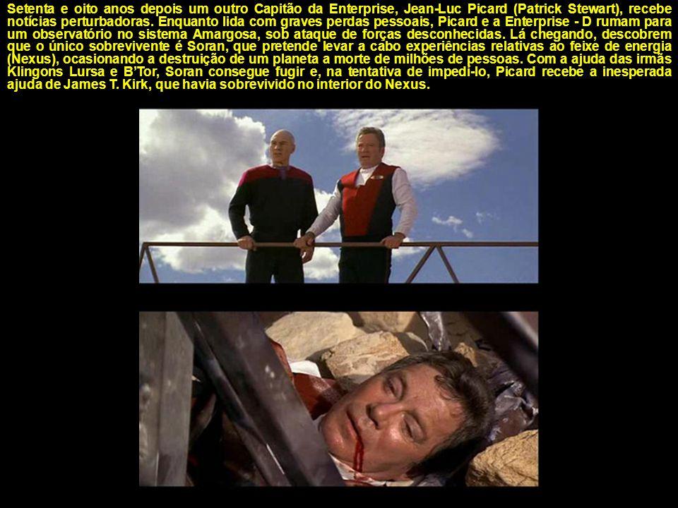 Inconformado com a aposentadoria, a presença da imprensa e a inexperiência do novo Capitão, Kirk novamente entra em ação quando a Enterprise recebe um