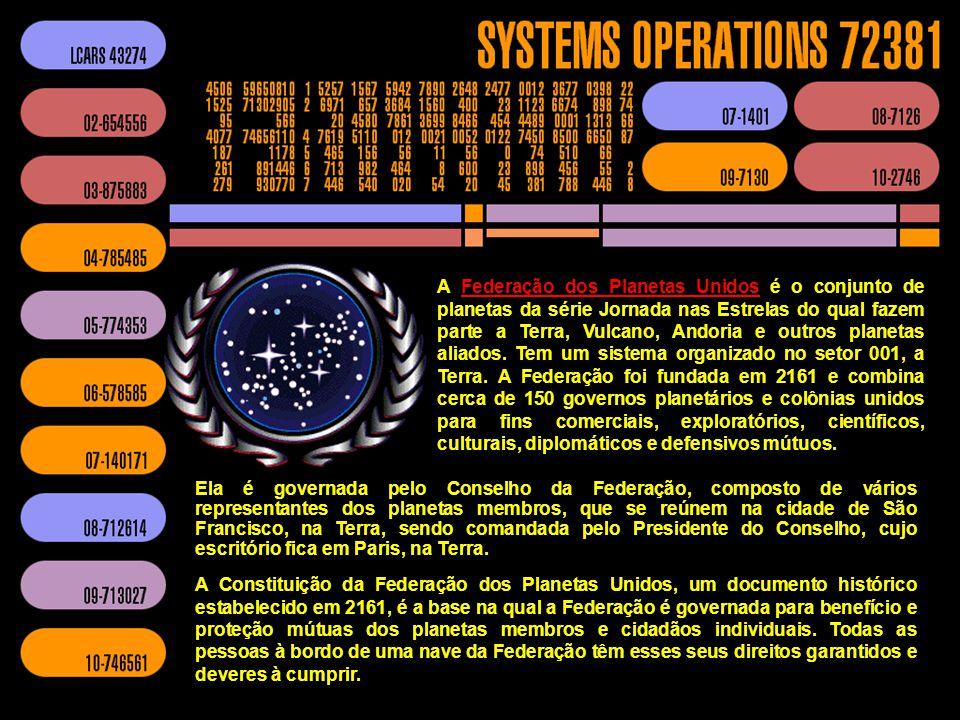 No universo ficcional da Star Trek, a Frota Estelar é a força de defesa, pesquisa, diplomacia e exploração da Federação dos Planetas Unidos. Para quem