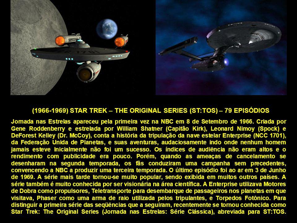 Jornada nas Estrelas apareceu pela primeira vez na NBC em 8 de Setembro de 1966.
