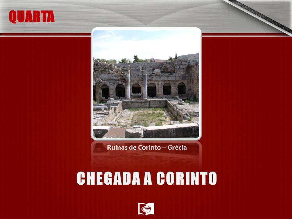 QUARTA Ruínas de Corinto – Grécia