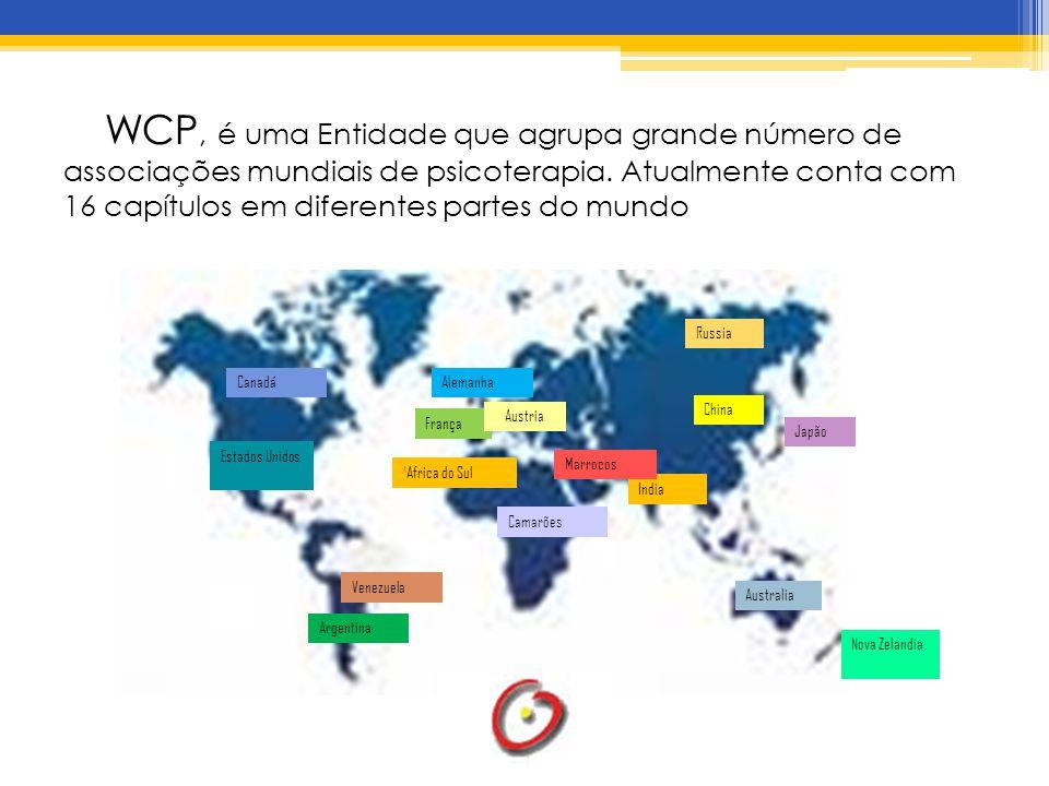 WCP, é uma Entidade que agrupa grande número de associações mundiais de psicoterapia.