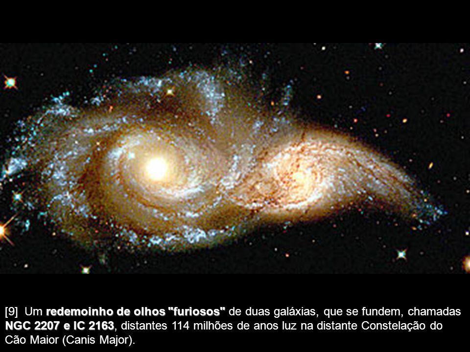 [8] Noite Estrelada Estrelada, assim chamada por lembrar aos astrônomos um quadro de Van Gogh com este nome. É um halo de luz que envolve uma estrela