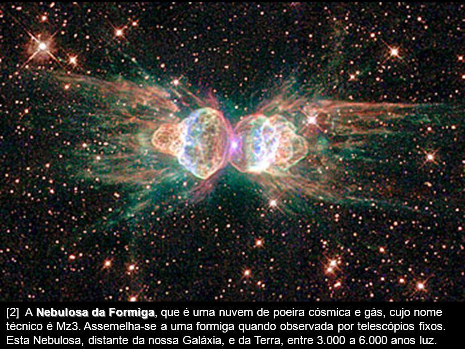 [1] A Galáxia do Sombrero Sombrero, distante 28 milhões de anos luz da Terra. As dimensões desta Galáxia, oficialmente denominada M104, tem uma aparên