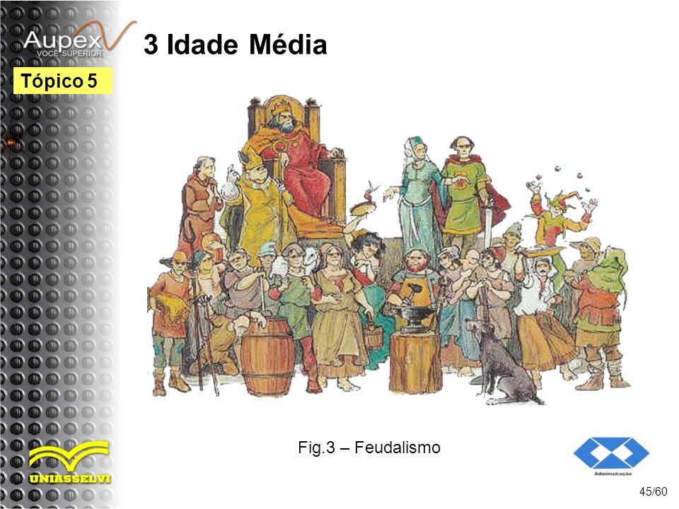 3 Idade Média 45/60 Tópico 5 Fig.3 – Feudalismo