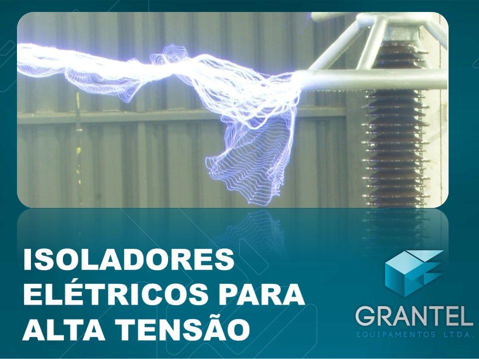 ISOLADORES – SUPORTE, CRUZETA 110kV/12kN - 220kV/4kN Isolador cruzeta 35kV/8kN - 110kV/4kN Isolador suporte Espaçadores de Fase - 220kV-500kV