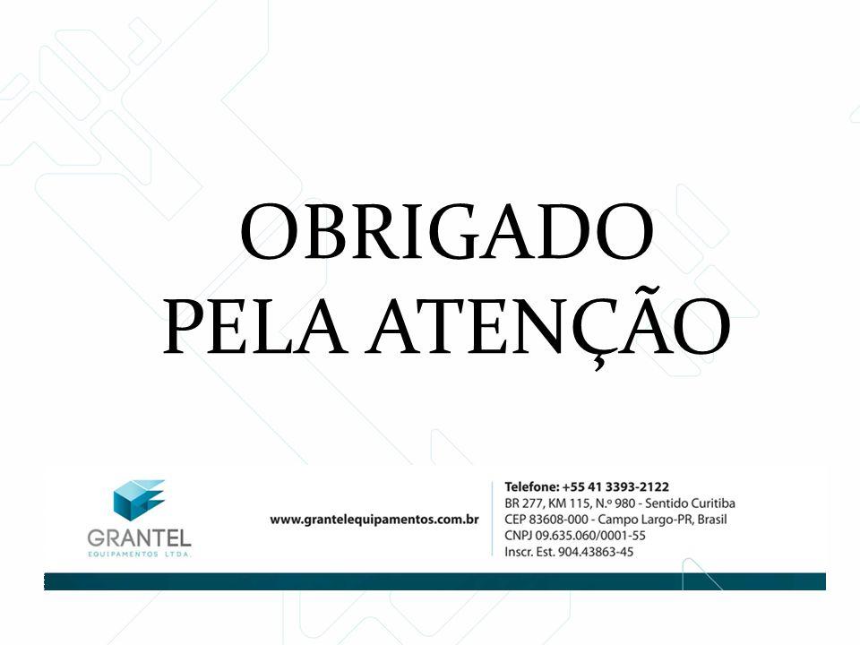 OBRIGADO PELA ATENÇÃO