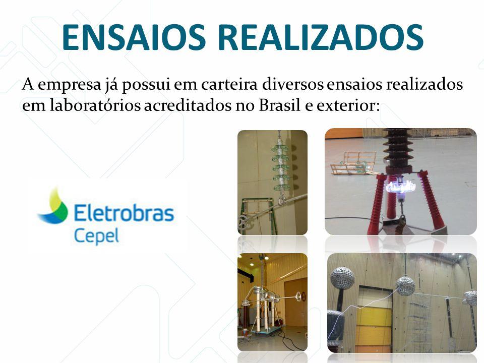 Para produção do isolador de 400 kV é necessária uma única injeção.