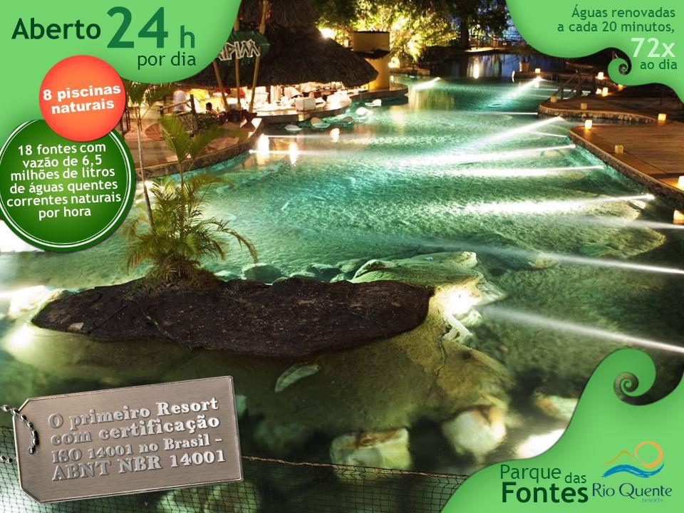 O MAIOR parque aquático com águas quentes correntes e naturais da América do Sul, único 50 mil m 2 entretenimento diversão &